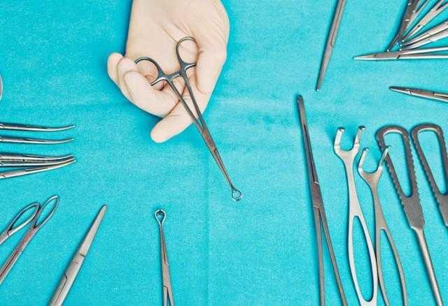 Instrumentos cirúrgicos sp