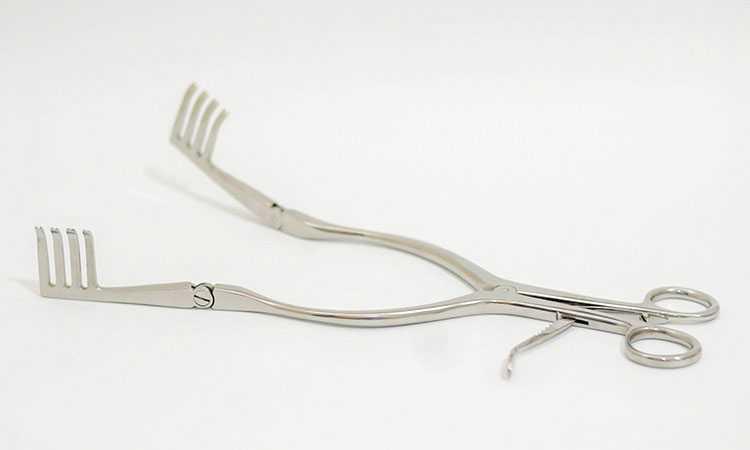 Reparo de afastador cirúrgico